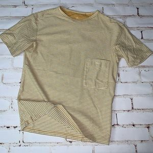[uniqlo] lemaire striped pocket tee